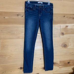 Hollister Dark Wash Skinny Jeans Junior Size 1S
